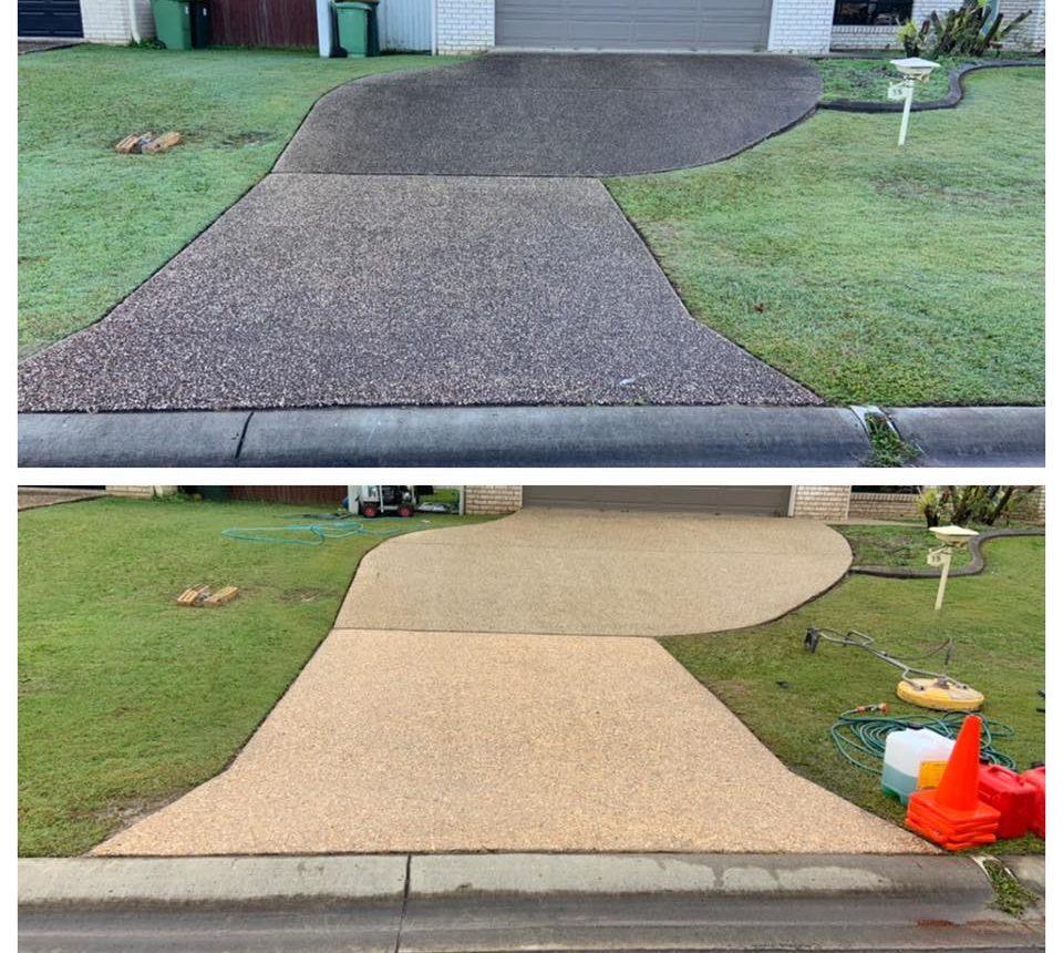 driveway pressure cleaning brisbane